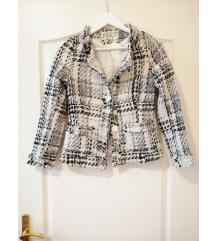 Tweed kabát