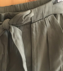 Keki paperbag nadrág
