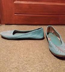 Strasszköves, menta színű balett cipő