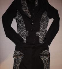 Csipke betétes kosztüm