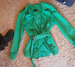 L-es zöld kabát