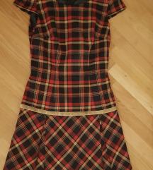 36-os skótkockás Orsay-ruha