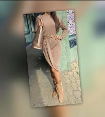 Új, címkés olasz cappuccino színű ruha