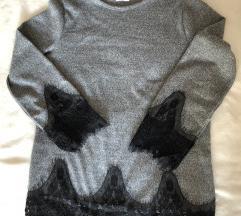 Vékony csipkés pulóver