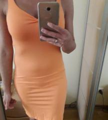 narancs nyári ruha S