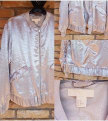 H&M ezüst tavaszi kabát