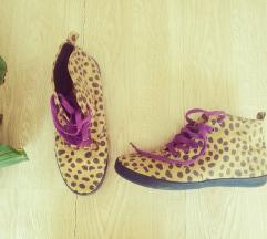 H&M leopárd tornacipő 39
