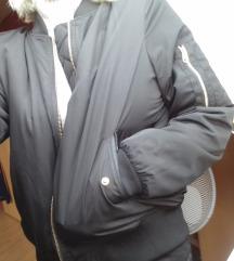 Fekete bomber dzseki
