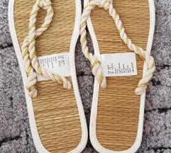 H&M strand papucs 38/39 új