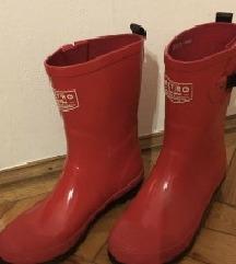 Retro piros gumicsizma