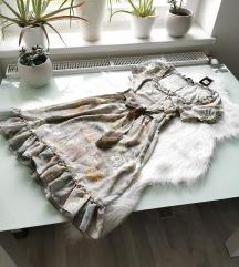 Pasztell virágos ruha M Új