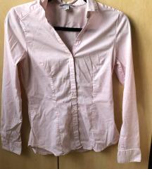 H&M rózsaszín ing