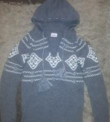Téli kötött pulóver s méret