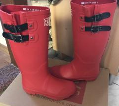 Retro Jeans piros gumicsizma