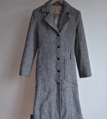 Hosszú szövet kabát 34/XS