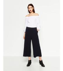 Zara kék-fehér elegáns nyári jumpsuit