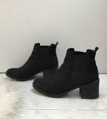 H&M fekete bokacsizma