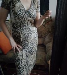 Párduc mintás ruha L