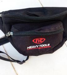 Heavy Tools fekete övtáska