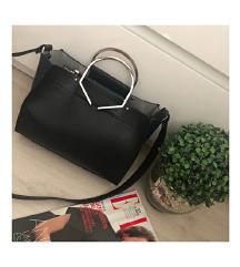 LEÁRAZVA! ZARA fekete táska
