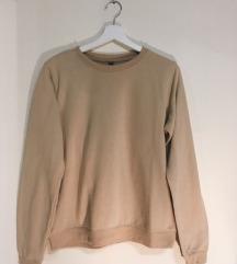bézs pulóver