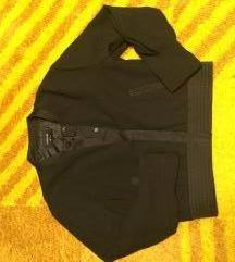 Fekete Reserved bomber dzseki
