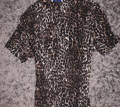 Zara divatos felső leopárd mintás