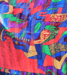 Picasso selyem kendő