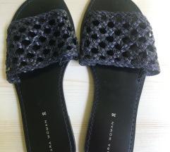 Zara fekete Új nyári papucs 36