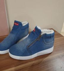 Béleses farmer hatású cipő ÚJ