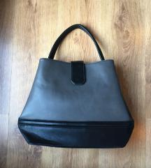 Szürke-fekete táska