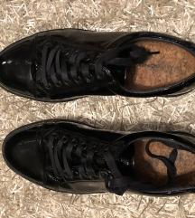 Vagabond férfi fekete fűzős cipő 41 42