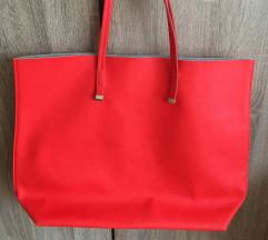 Piros Bershka táska