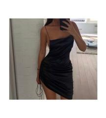 Fekete slip dress