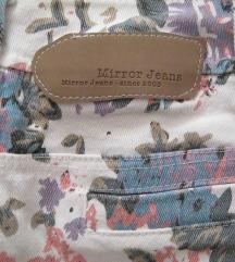 Mirror virágos mini szoknya