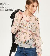 RESERVED flower blouse