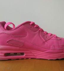 Neon rózsaszín tornacipő