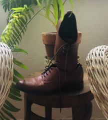 Vintage barna bőr cipő