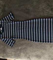 Divided bodycorn bordázott ruha