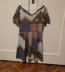 Patchwork bohém ruha