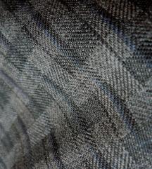 ✿ Magasderekú szürke vintage őszi hosszú szoknya