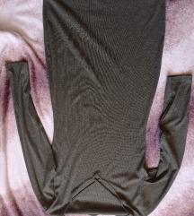 Khaki zöld színű ruha