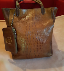 Massimo Dutti bőr táska