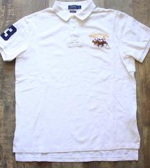 Újszerű  ' Ralph Lauren ' férfi pique póló, L-es