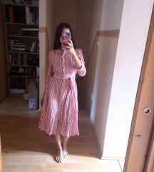 Új H&M 100% Cotton Midi Dress