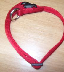 Kutya nyakörv piros – textil S-M 30 – 45 cm