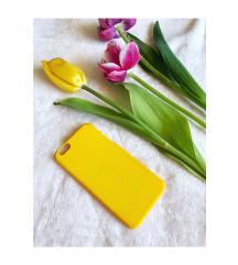 Élénk sárga iPhone 6/6s tok