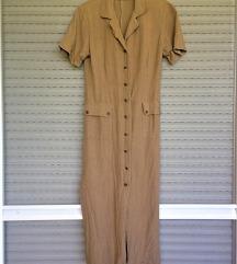 Vintage vászonruha (S-M)