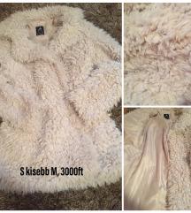 Szőrös/szőrme kabát