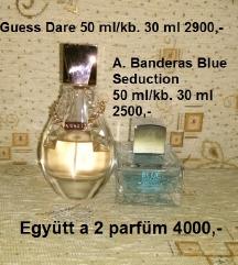 Guess és A.Banderas parfüm